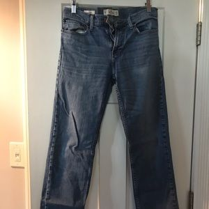Men's Light wash Hollister Classic Straight Jeans